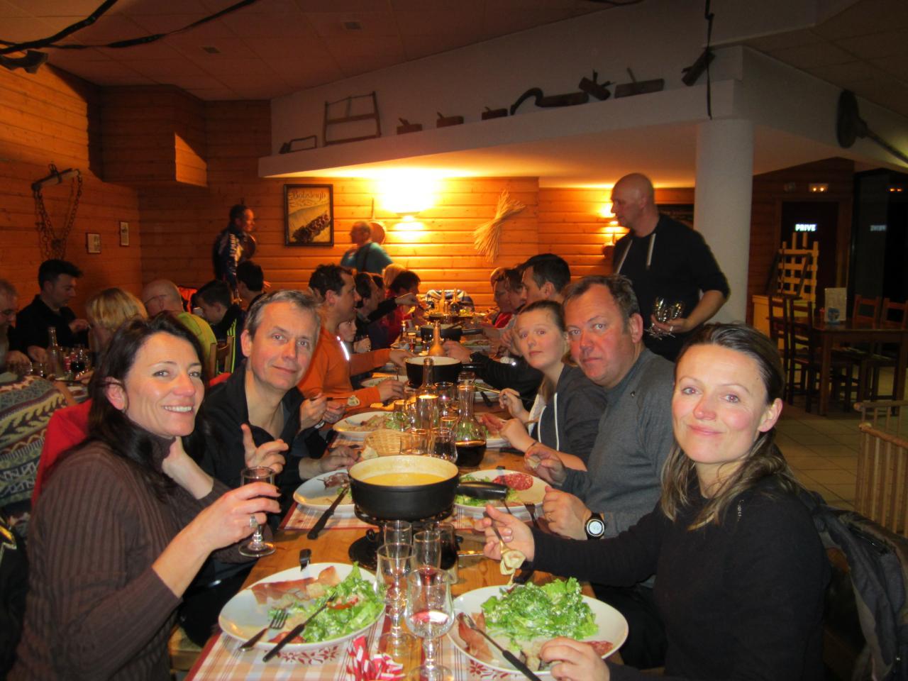 Le repas au Chatillon