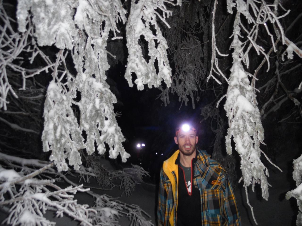 Soirée du 14 janvier 2017 raquette en forêt